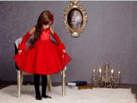 欧美甜美公主裙