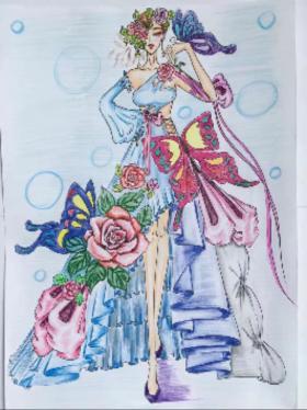 时尚礼服设计