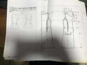 图案设计与男装效果图