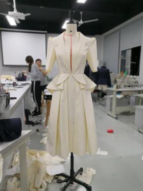 2019年广东省职业技能大赛《服装设计与服装工艺赛项二等奖》作品