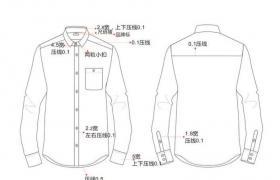 客户订单衬衣和款式图开发