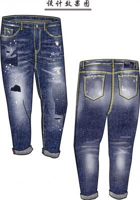 海洋主题之男裤表现