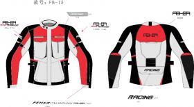 这些都是我设计的骑行服