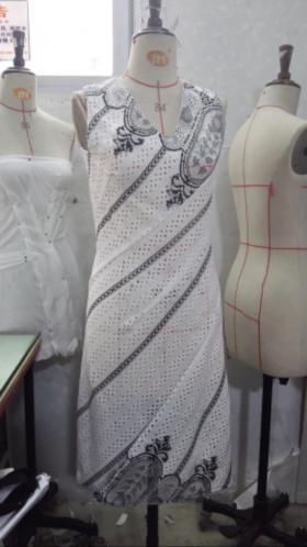 螺纹连衣裙