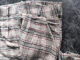 西装格子裤