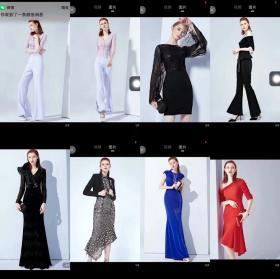 礼服,时装组合