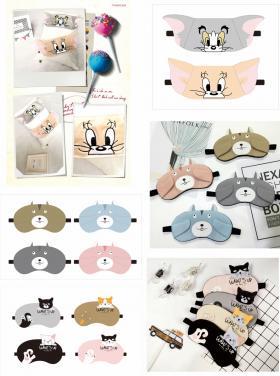 可爱卡通眼罩