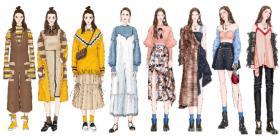 女装全季度系列产品