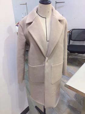 呢子大衣自己打版车版