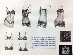 在校期间服装设计手绘11