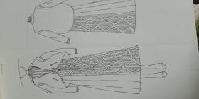 在学校画的一些作业