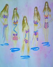 内衣系列的设计