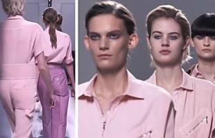 Hermès 2017春夏巴黎时装发布会