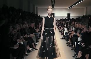 Christian Dior 2017春夏巴黎时装发布会