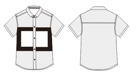 男童短袖衬衫 - 邹慧倩设计师的服装设计作品 - 东纺